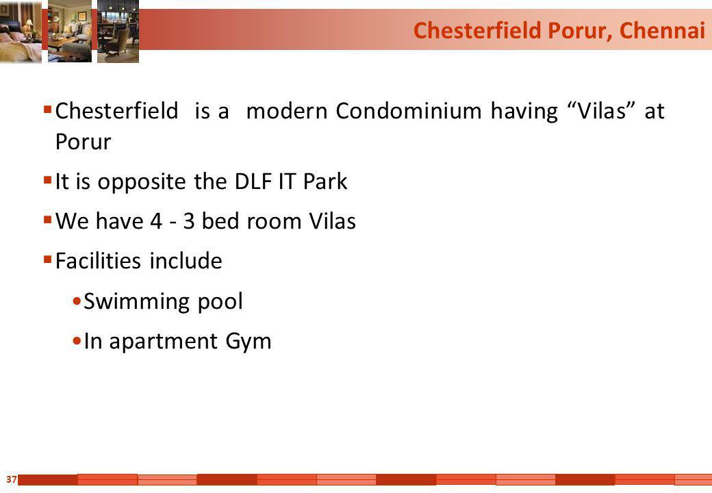 Chesterfield Porur, Chennai