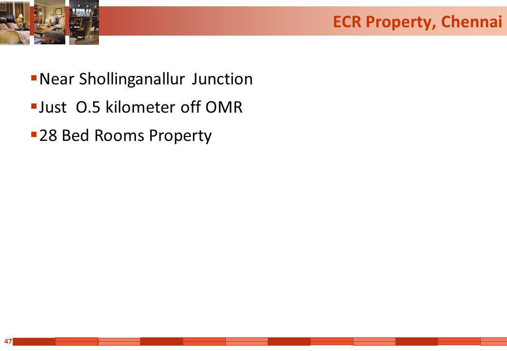ECR Property, Chennai Near Shollinganallur Junction.