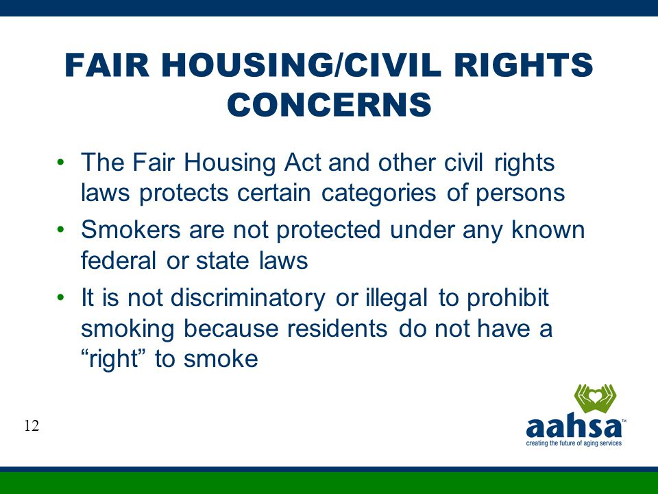 FAIR HOUSING/CIVIL RIGHTS CONCERNS