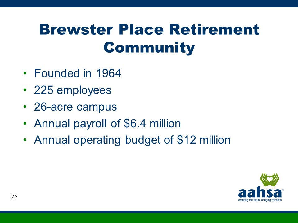 Brewster Place Retirement Community