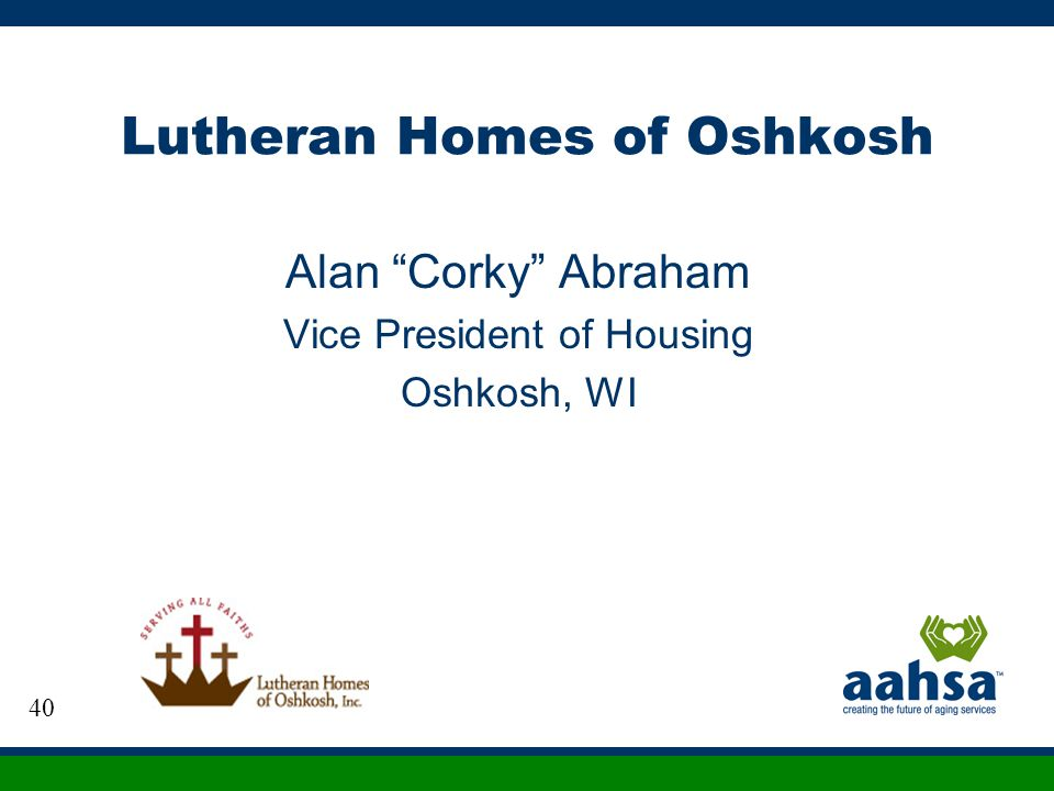 Lutheran Homes of Oshkosh