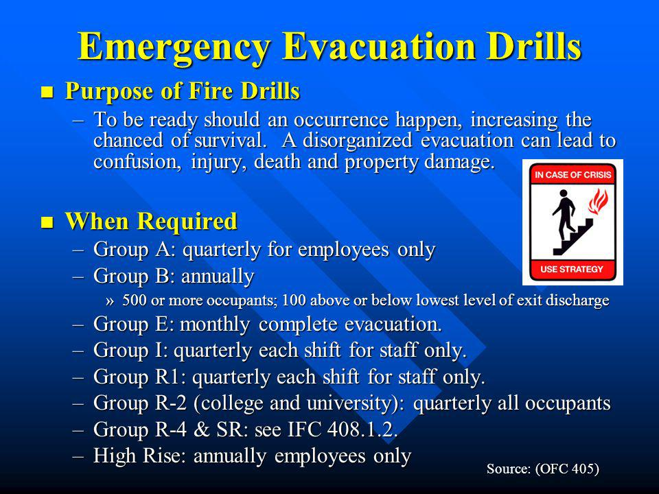 Emergency Evacuation Drills