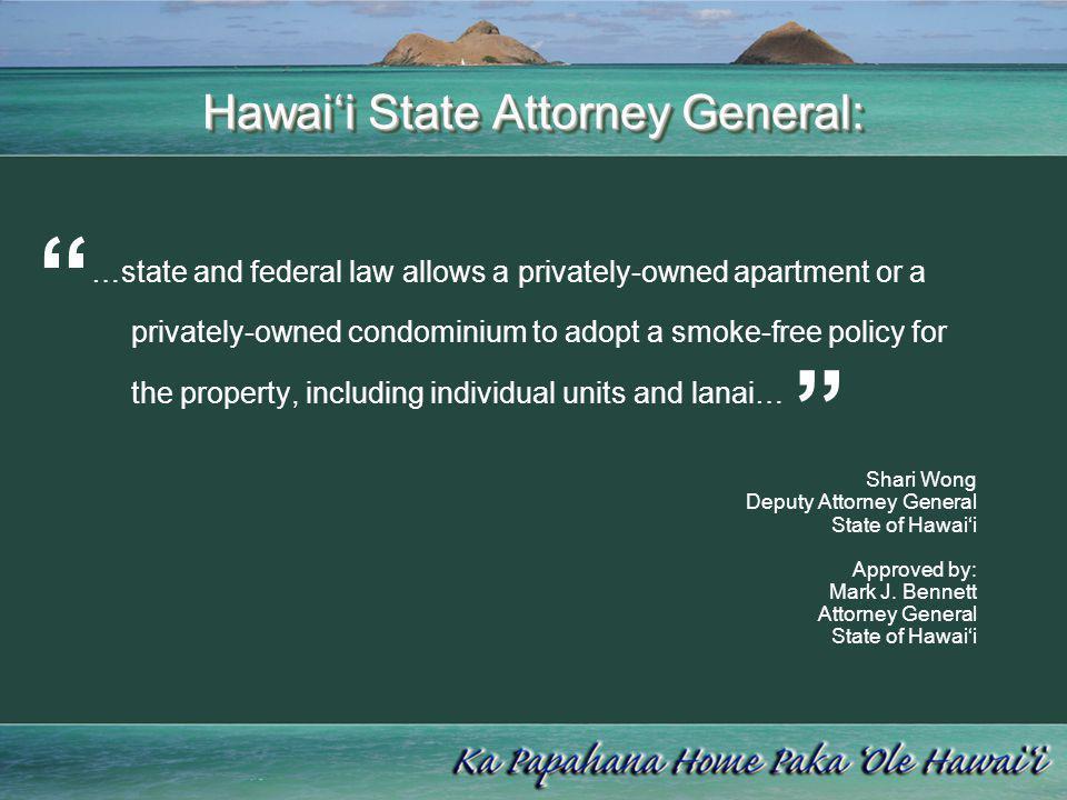 Hawai'i State Attorney General: