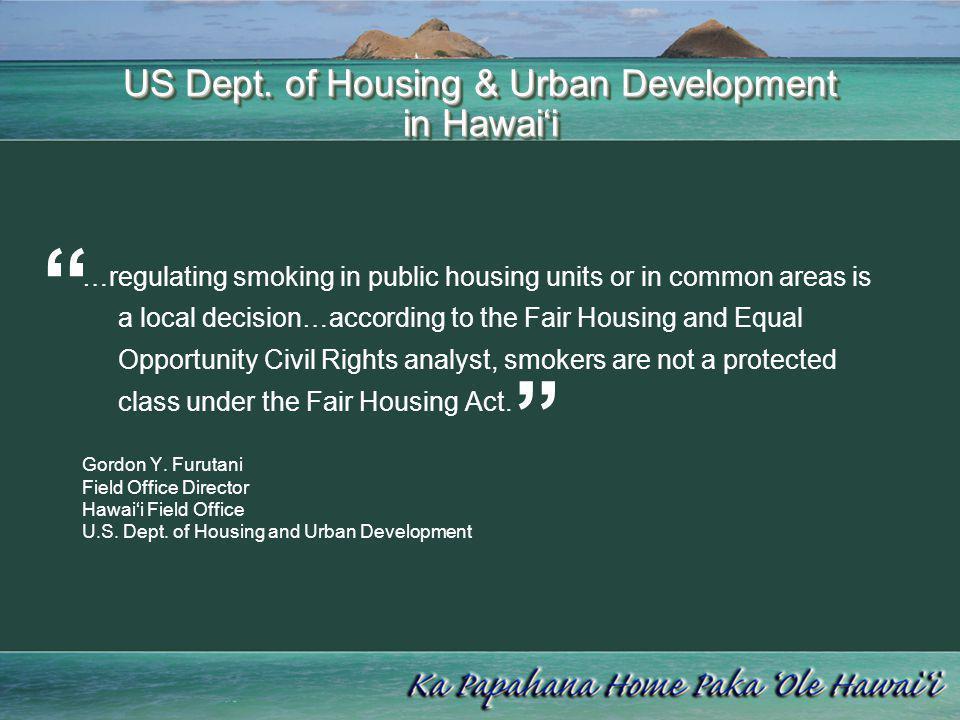US Dept. of Housing & Urban Development in Hawai'i
