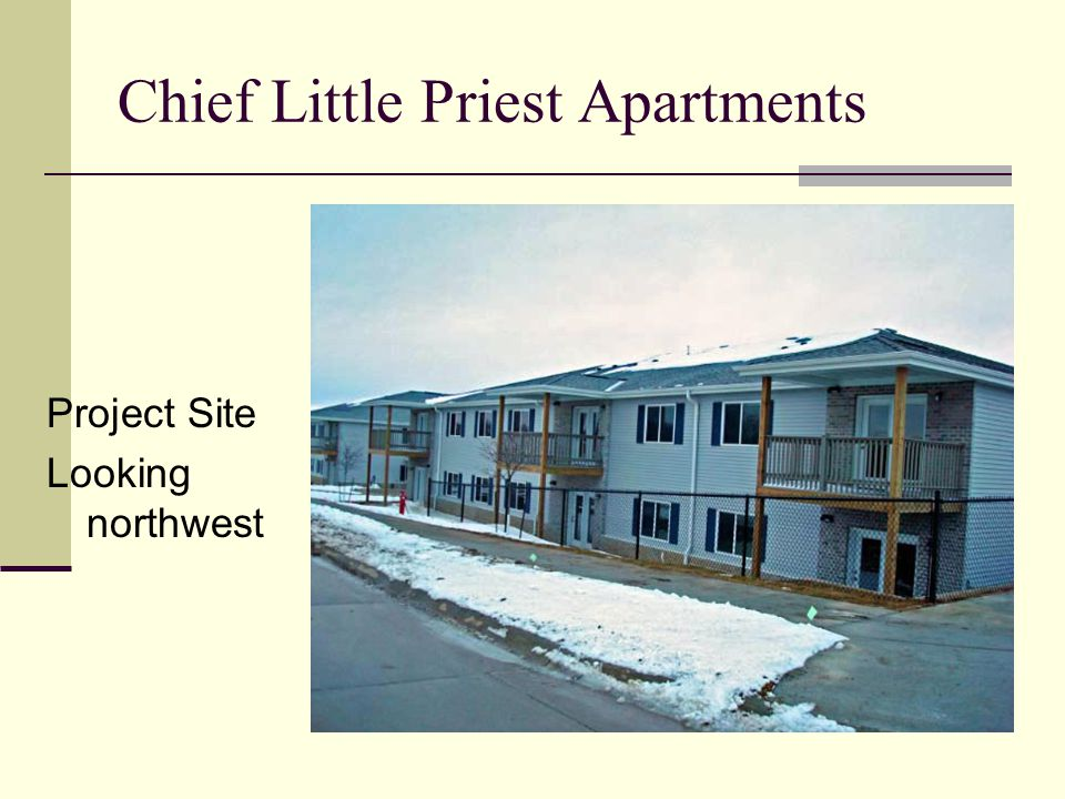Chief Little Priest Apartments