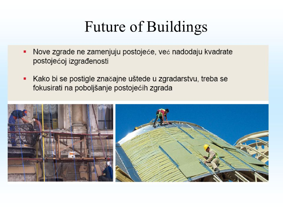 Future of Buildings