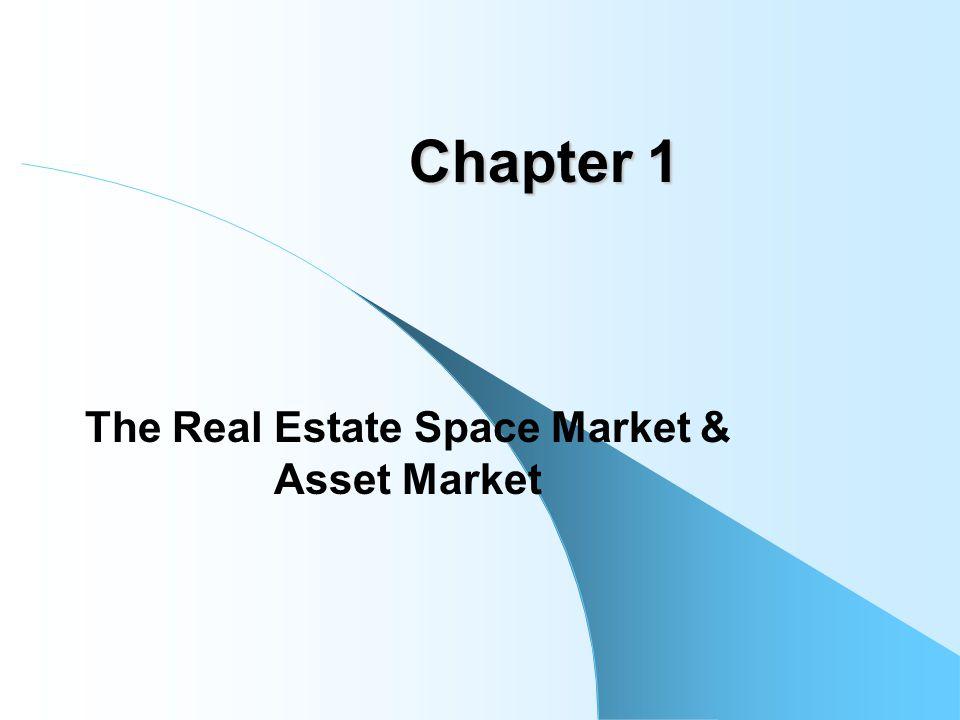 The Real Estate Space Market & Asset Market