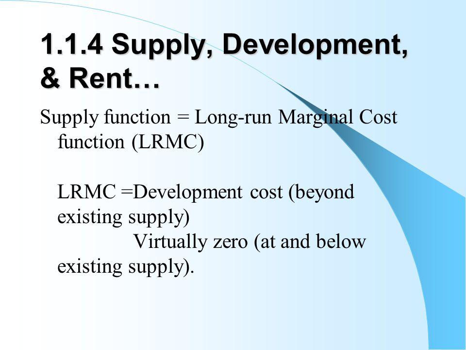 1.1.4 Supply, Development, & Rent…