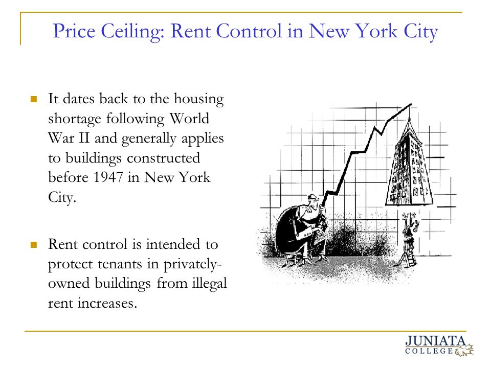 Price Ceiling: Rent Control in New York City