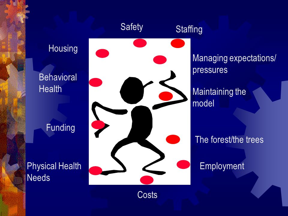 Safety Staffing. Housing. Managing expectations/ pressures. Behavioral Health. Maintaining the model.
