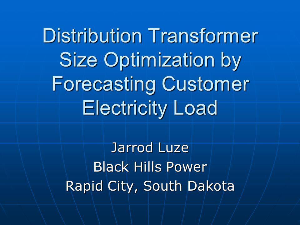 Jarrod Luze Black Hills Power Rapid City, South Dakota