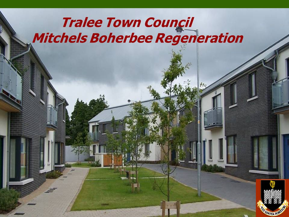 Tralee Town Council Mitchels Boherbee Regeneration