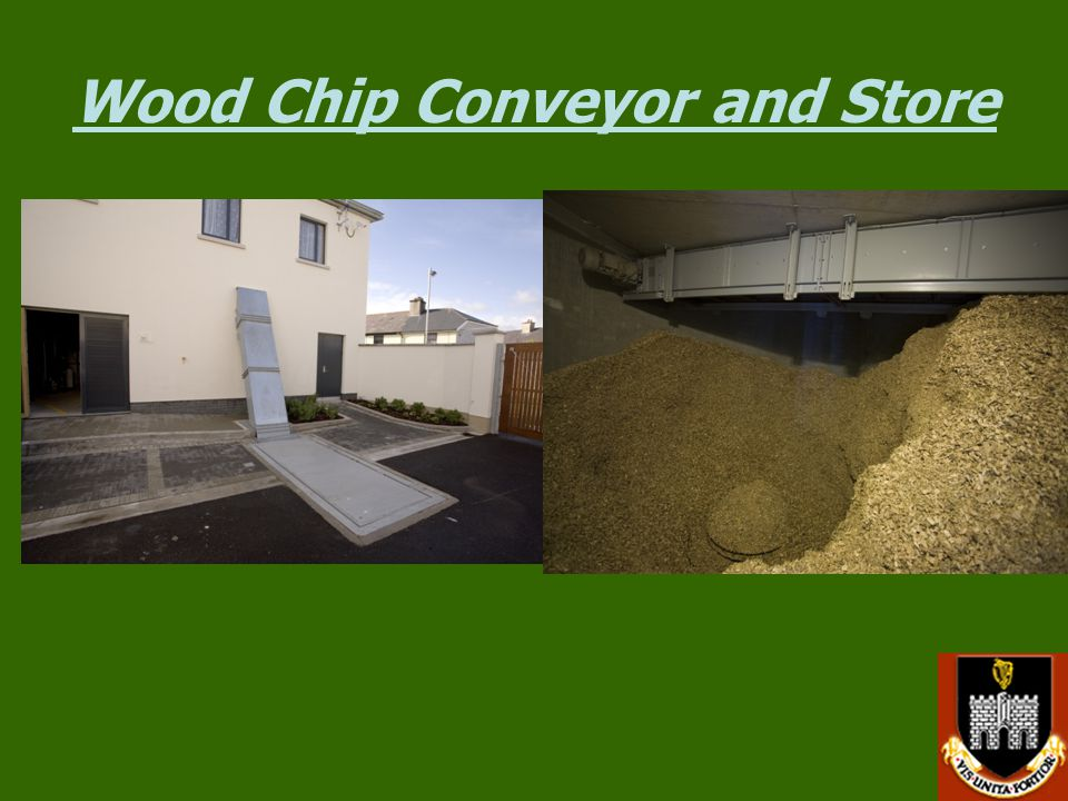 Wood Chip Conveyor and Store