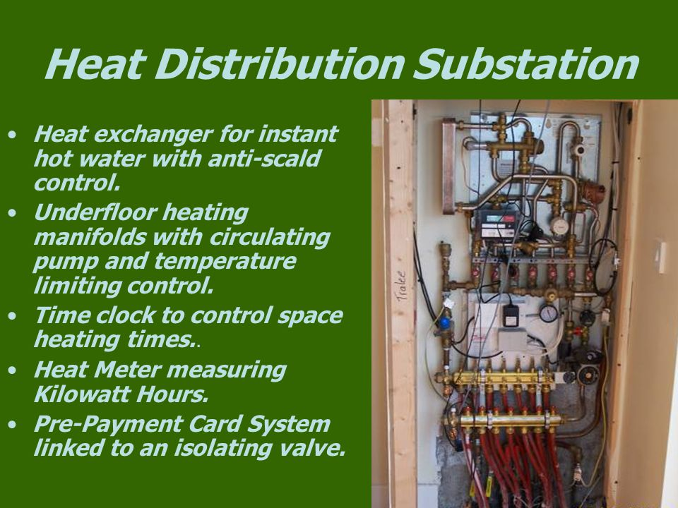Heat Distribution Substation
