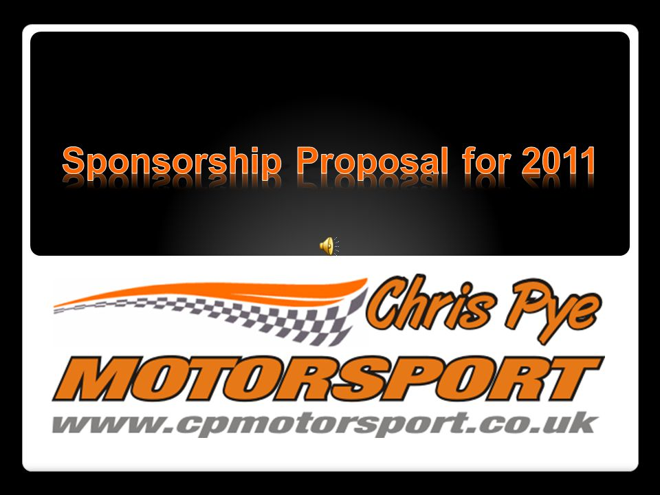 Sponsorship Proposal for 2011