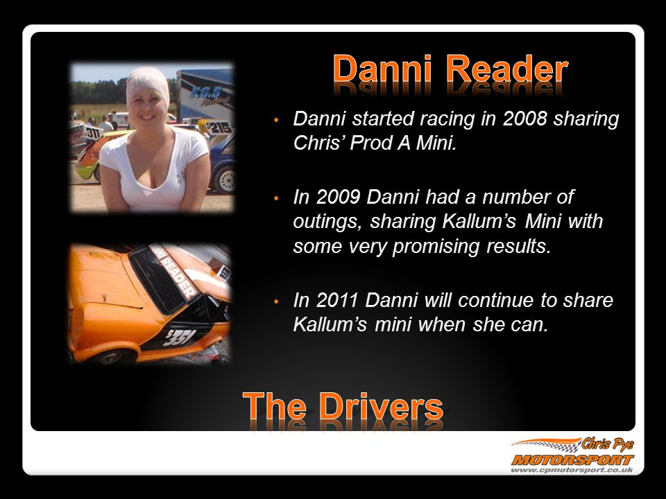 Danni Reader The Drivers
