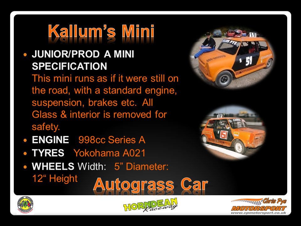 Kallum's Mini Autograss Car