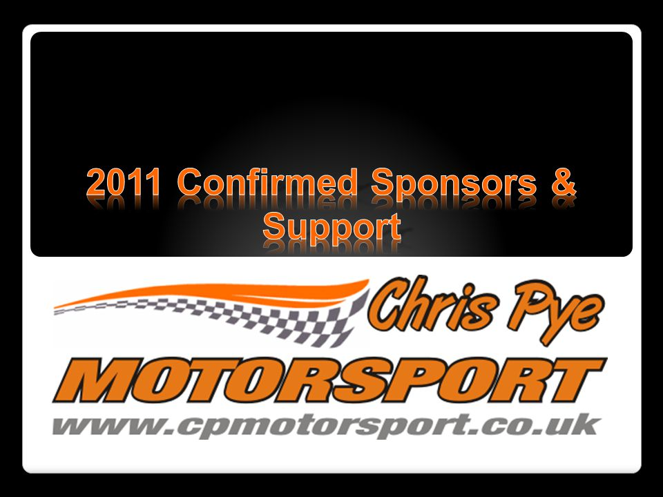 2011 Confirmed Sponsors & Support