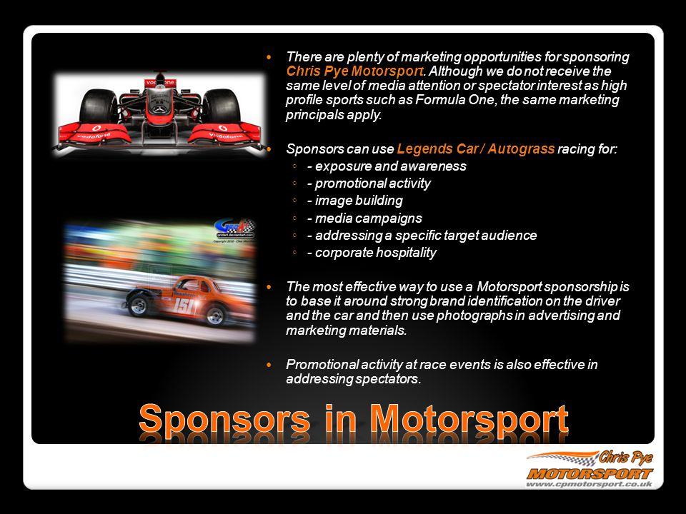 Sponsors in Motorsport
