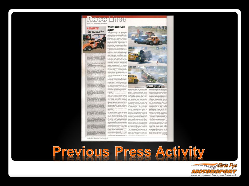 Previous Press Activity