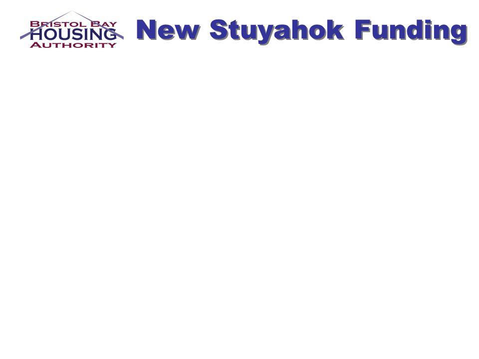 New Stuyahok Funding