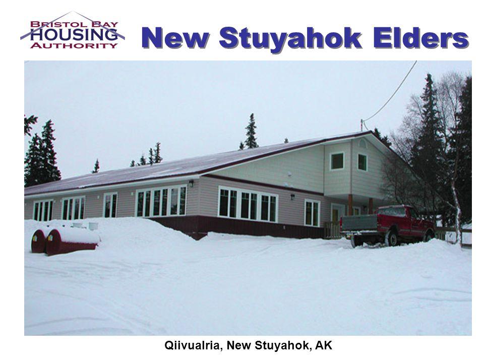 Qiivualria, New Stuyahok, AK
