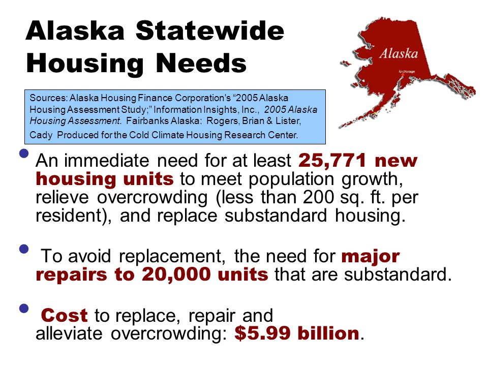 Alaska Statewide Housing Needs