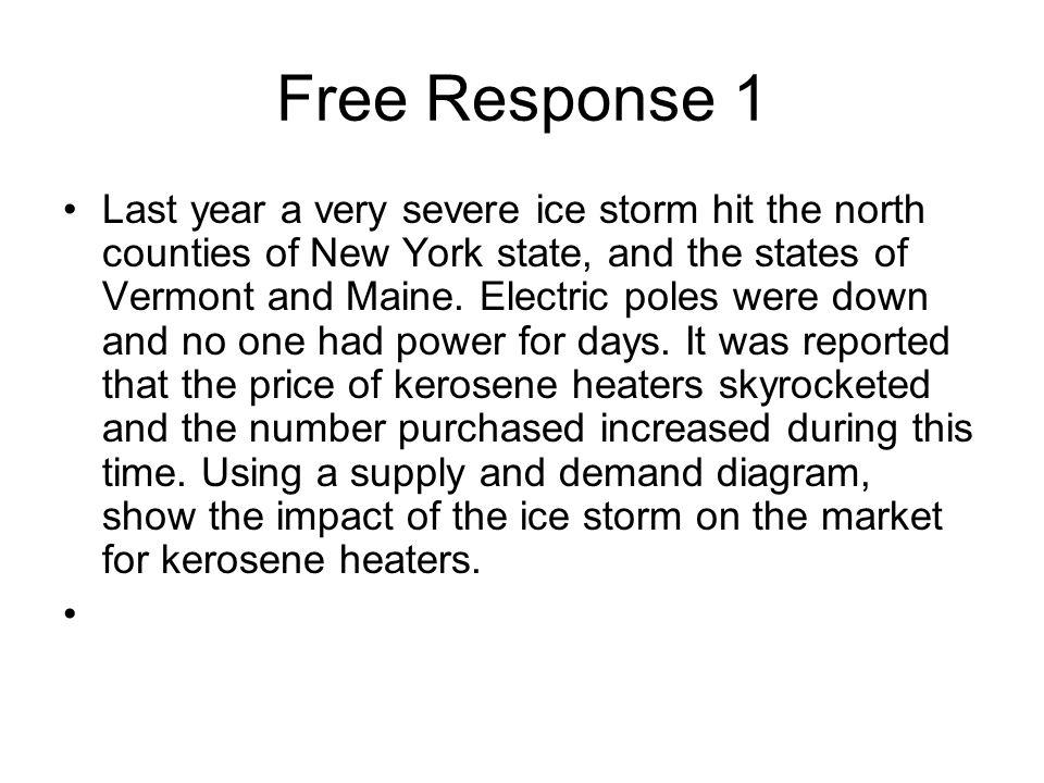 Free Response 1