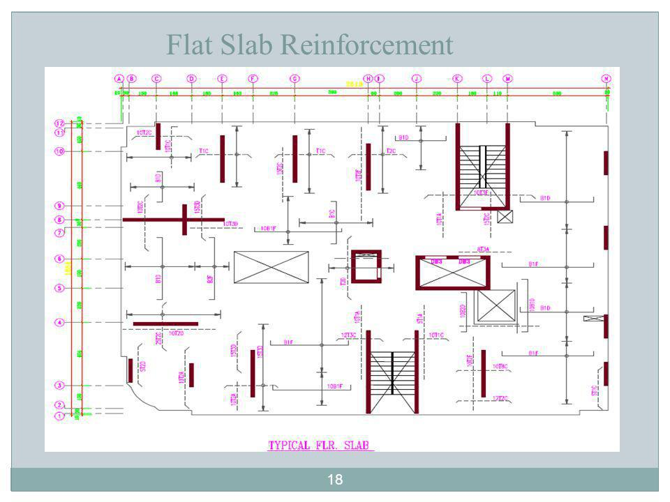 Flat Slab Reinforcement