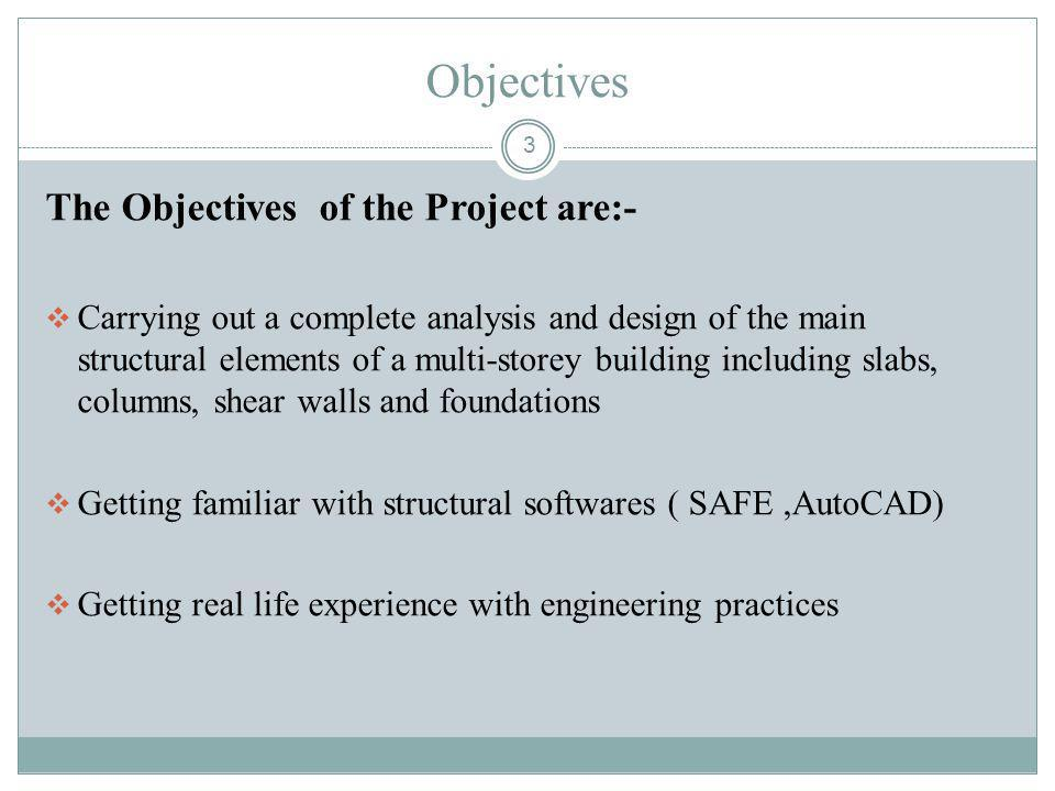 Objectives The Objectives of the Project are:-