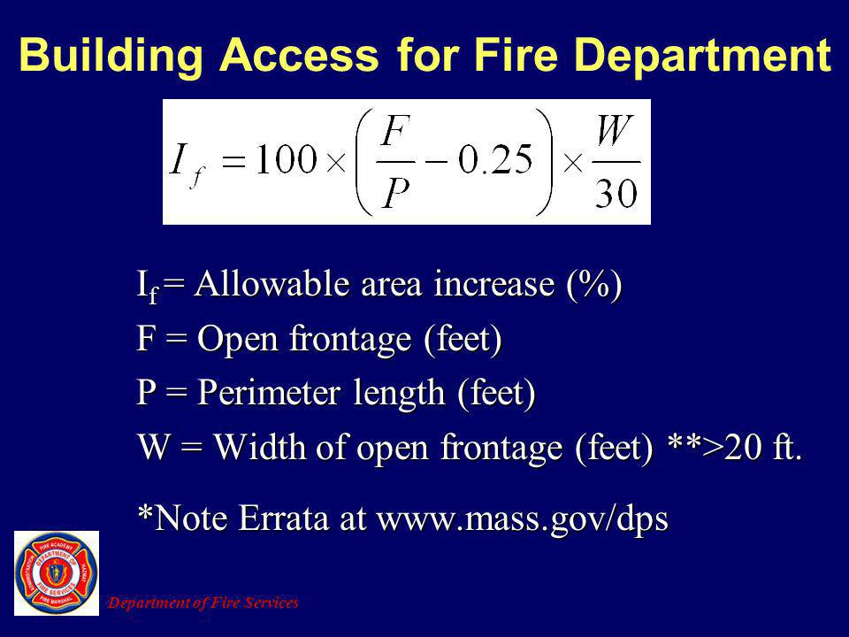 Building Access for Fire Department