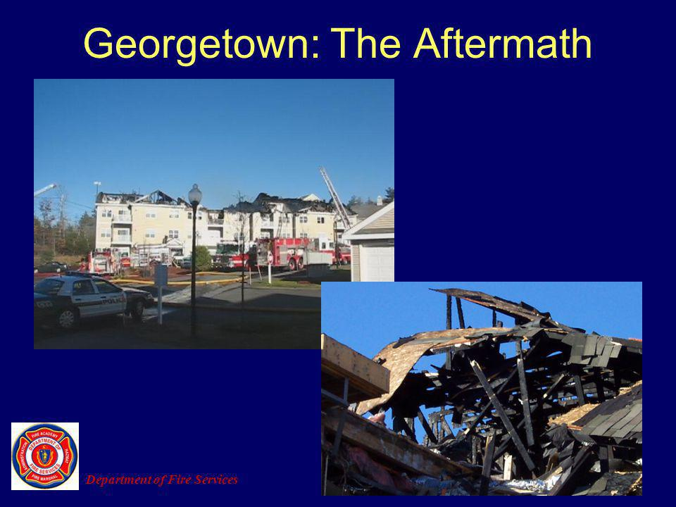 Georgetown: The Aftermath