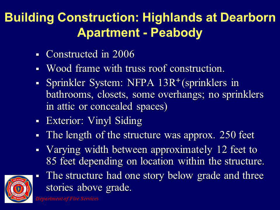 Building Construction: Highlands at Dearborn Apartment - Peabody