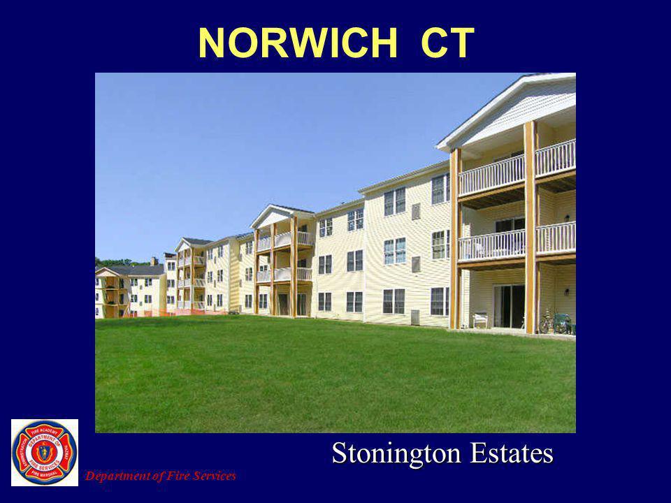 NORWICH CT Department of Fire Services Stonington Estates