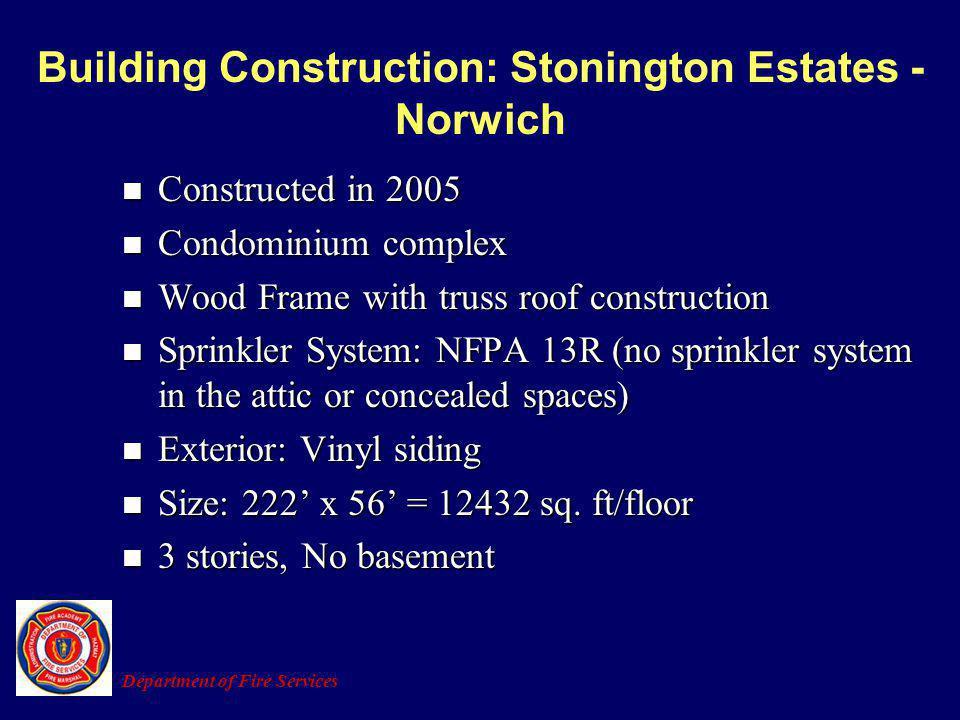 Building Construction: Stonington Estates - Norwich