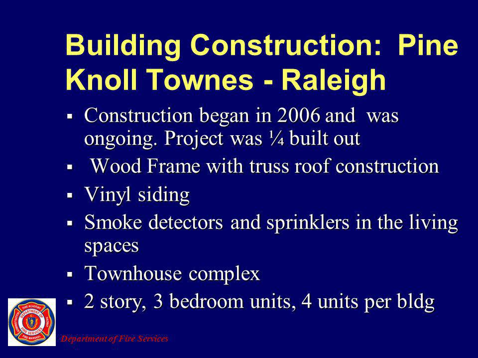 Building Construction: Pine Knoll Townes - Raleigh