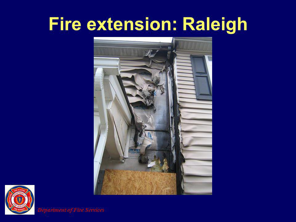Fire extension: Raleigh
