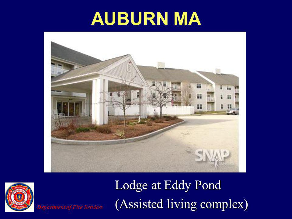 AUBURN MA Lodge at Eddy Pond (Assisted living complex)