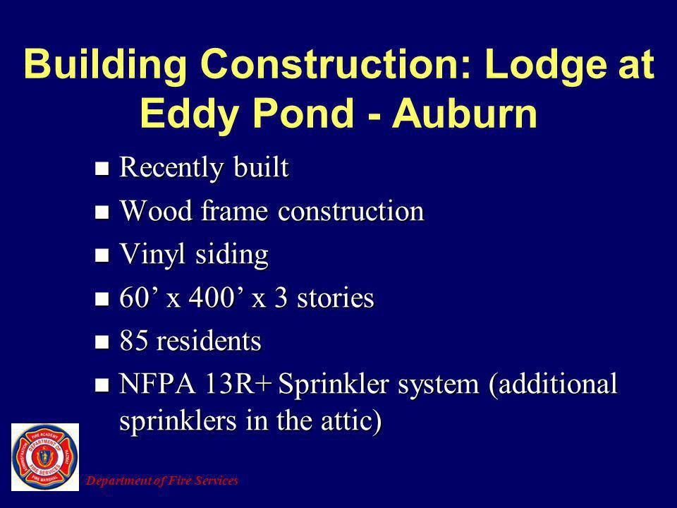 Building Construction: Lodge at Eddy Pond - Auburn