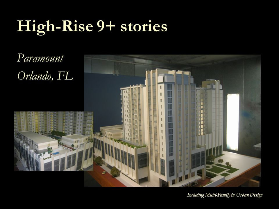 High-Rise 9+ stories Paramount Orlando, FL
