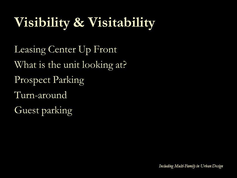 Visibility & Visitability
