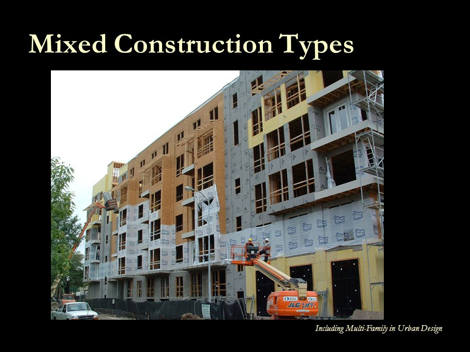Mixed Construction Types