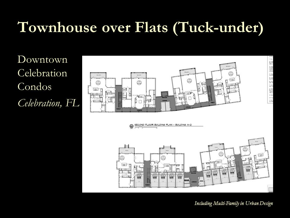 Townhouse over Flats (Tuck-under)