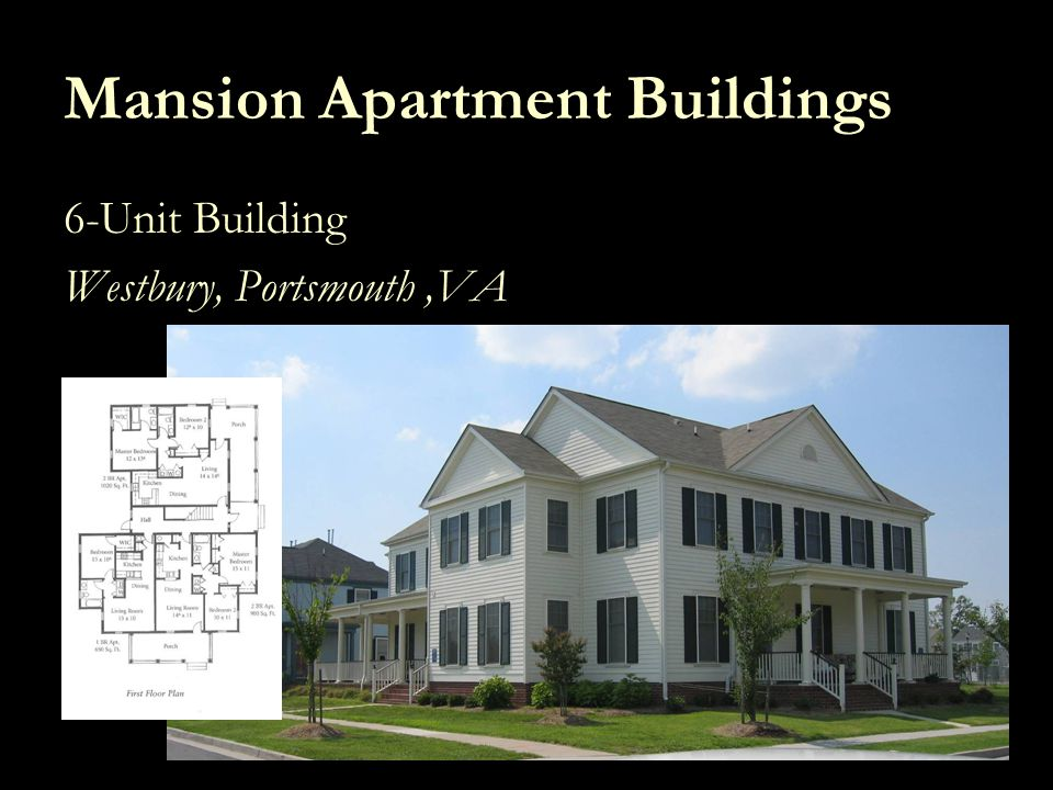 Mansion Apartment Buildings