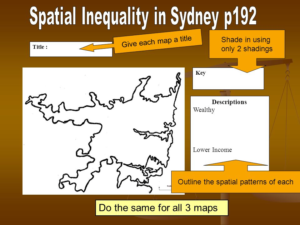 Spatial Inequality in Sydney p192