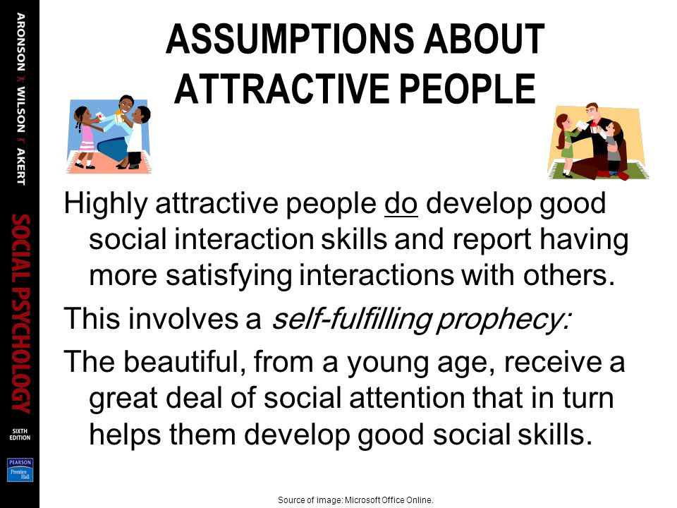 ASSUMPTIONS ABOUT ATTRACTIVE PEOPLE