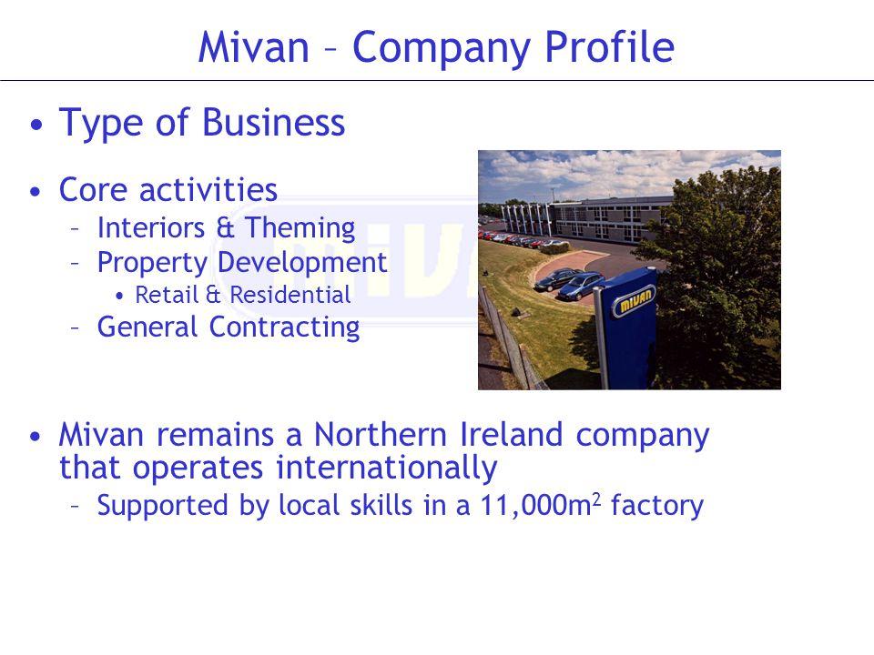 Mivan – Company Profile