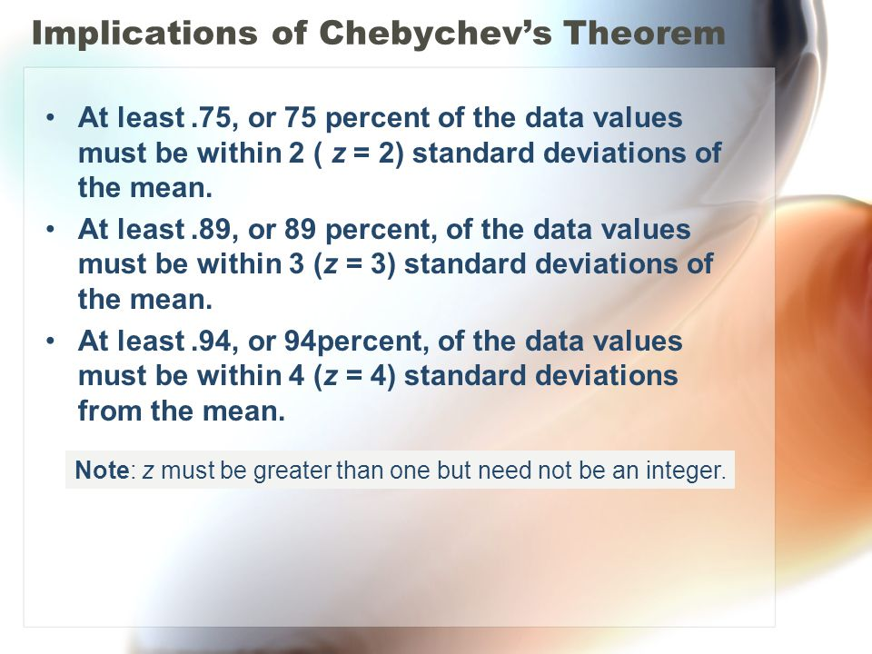 Implications of Chebychev's Theorem