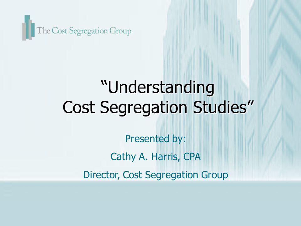 Understanding Cost Segregation Studies