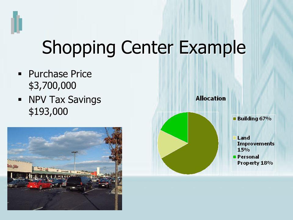 Shopping Center Example